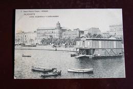 1 CP Alicante - Casa Alberola Y Explanada - Alicante