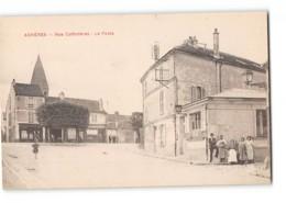CPA 78 Acheres La Poste Rue Coffinieres - Acheres