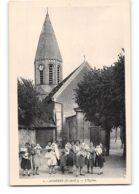 CPA 78 Acheres L'église - Acheres