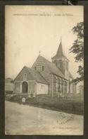 CP-ANGERVILLE-l'ORCHER - Entrée De L'Eglise - France