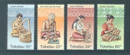 TOKELAU - MNH/** - 1982  - ARTS - Yv 81-84 -  Lot 18364 - Tokelau