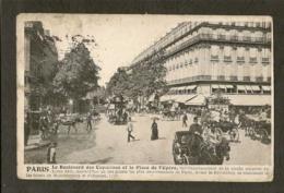 CP-le Boulevard Des Capucines Et La Place De L'Opéra - Autres