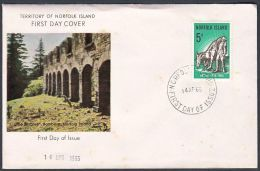 "Norfolk Island 1964, FDC Cover ""Australian - New Zealand - Army - Corps"", Ref.bbzg - Ile Norfolk"