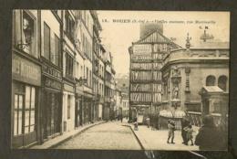 CP-ROUEN - Vieilles Maisons, Rue Martinville - Rouen