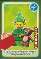 Lego Trading Card - Create The World - 016 Holiday Elf - Trading Cards