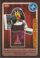 Lego Trading Card - Create The World - 018 Fortune Teller - Trading Cards
