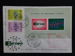 REPUBBLICA - Europa CEPT 1972 - Foglietto Ricordo Ufficiale + Spese Postali - 6. 1946-.. Repubblica