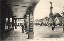 REIMS....les Loges Et La Fontaine - Reims