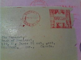 LETTER EMA HONK KONG VICTORIA  1958 GY6016 - 1997-... Région Administrative Chinoise