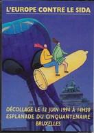 L'EUROPE CONTRE LE SIDA - BRUXELLES 1994  - NUOVA - Salute