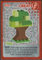 Lego Trading Card - Create The World - 022 Tree - Trading Cards