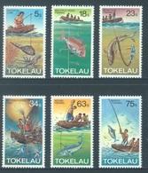 TOKELAU - MNH/** - 1982  - METHOD OF FISHING - Yv 85-90 -  Lot 18365 - Tokelau