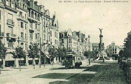 REIMS....place Drouet D Erlon...tramway - Reims