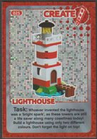 Lego Trading Card - Create The World - 025 Lighthouse - Trading Cards