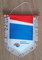 Pennant NEDERLANDS Netherlands Handball Federation 20x22cm - Handball