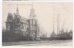 Cpa Tieghem  Chateau - Anzegem