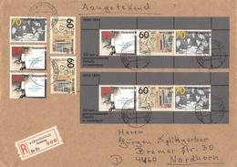 NETHERLANDS - RECO 1984 's-GRAVENHAGE - NORDHORN Mi #BLOCK 26, 1253-1255 - Periode 1980-... (Beatrix)