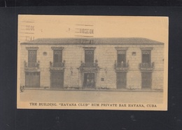 Cuba PPC Bar Havana Club Folded - Postcards