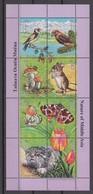 Tajikistan 09.04.2002 Mi # 212-18 Kleinbogen A, Flora & Fauna Of The Middle Asia MNH OG - Tadjikistan