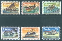 TOKELAU - MNH/** - 1983  - MARINE TRANSPORT - Yv 91-96 -  Lot 18368 - Tokelau