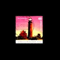 Bund / Germany: 'Leuchtturm Greifswalder Oie - Selbstklebend, 2005' / 'Lighthouse', Mi. 2478; Yv. 2301; Sc. 2345A Oo - Lighthouses
