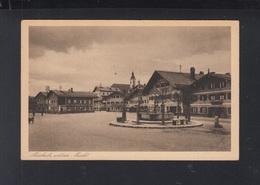 Dt. Reich AK Miesbach Unterer Markt 1926 - Miesbach