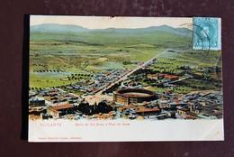 1 Carte Postale Colorisée Espagne Alicante Barrio De San Anton Y Plaza De Toros - Alicante