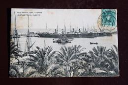 1 Carte Postale Espagne Alicante El Puerto Bazar Pascual Lopez - Alicante