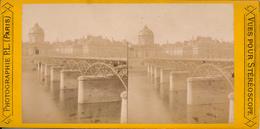 Paris, Pont Des Arts, Photographie P.L. Paris - Photos Stéréoscopiques