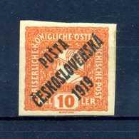 1919 CECOSLOVACCHIA Yv. 106 * - Cecoslovacchia