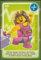 Lego Trading Card - Create The World - 027 Fitness Instructor - Trading Cards