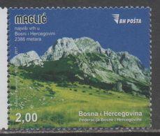 BOSNIA,  2017,MNH, MOUNTAINS,  1v - Geology