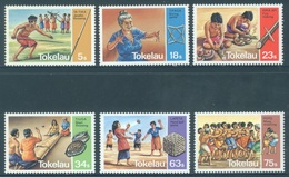 TOKELAU - MNH/** - 1983  - VARIOUS GAMES - Yv 97-102 -  Lot 18369 - Tokelau