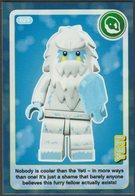 Lego Trading Card - Create The World - 029 Yeti - Trading Cards