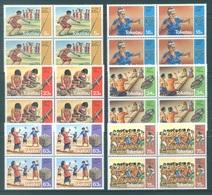 TOKELAU - MNH/** - 1983  - VARIOUS GAMES - Yv 97-102 -  Lot 18370 IN BLOC OF 4 STAMPS - Tokelau