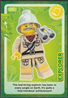Lego Trading Card - Create The World - 032 Explorer - Altri