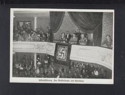 AK Hitler Bei Der Festaufführung Die Meistersinger Von Nürnberg 1935 - Historical Famous People