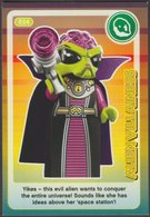 Lego Trading Card - Create The World - 034 Alien Villainess - Trading Cards