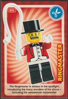 Lego Trading Card - Create The World - 035 Ringmaster - Trading Cards