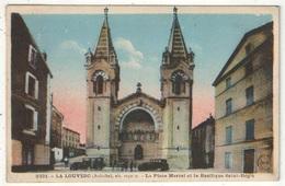 07 - LA LOUVESC - La Place Marrel Et La Basilique Saint-Régis - MB 9331 - La Louvesc