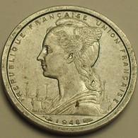 1948 - Madagascar - French Colony - 1 FRANC - KM 3 - Madagascar