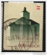 2013 -  3095 Y - ° - FM - 0,90 -Bergkirche, Eisenstadt (mit Fluor. Postlogo) - 1945-.... 2. Republik