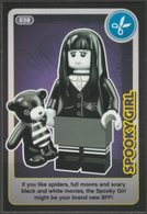 Lego Trading Card - Create The World - 038 Spooky Girl - Altri