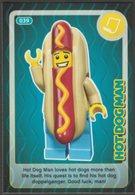 Lego Trading Card - Create The World - 039 Hot Dog Man - Trading Cards