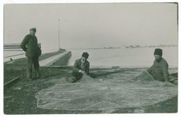 RO 59 - 5515 BRAILA, Romania, Fishermen - Old Postcard, Real PHOTO - Unused - Romania