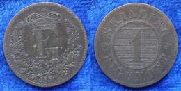 DENMARK - 1 Skilling Rigsmont 1856 KM# 763 Frederik VII (1854-1863) Bronze - Edelweiss Coins - Danemark