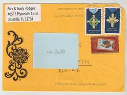12 APR  2017 -  USA/Florida  -  Brief / Bedarfsbeleg    - O Gestempelt - Siehe Scan (us 2029) - Briefe U. Dokumente