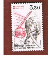 FRANCIA (FRANCE) -   SG 2542  -    1982  FIRE FIGHTERS  -  USED - Gebraucht