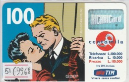 RICARICA TIM USATA 1051 9M GEN.2002 (9968 - [2] Sim Cards, Prepaid & Refills