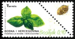 2017, Flora, Condiment Plants, Bosnia And Herzegovina, MNH - Bosnie-Herzegovine